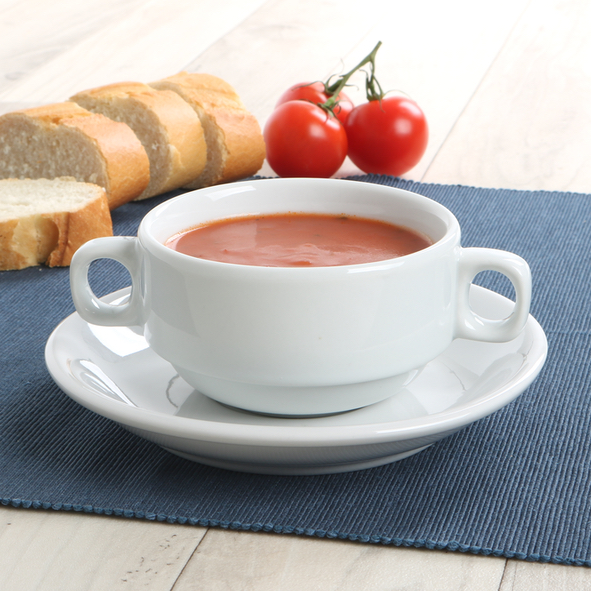 Soup cup ''Catering'' 0,25 l with Saucer UTA 117