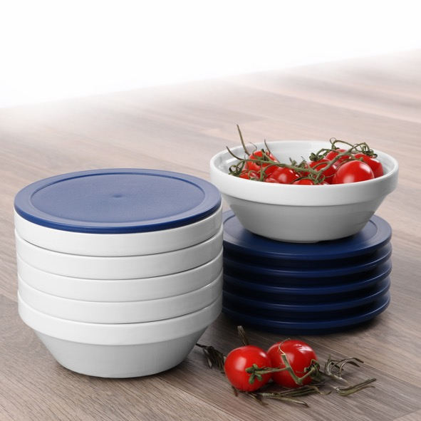 Round bowl ''Hospital'' 14 cm, stackable