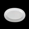 "Platte oval 25 x 16 cm ""Albergo"" halbtief"