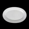 "Platte oval 31 x 22 cm ""Albergo"" halbtief (**)"