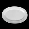 "Platte oval 34 x 23 cm ""Albergo"" halbtief"
