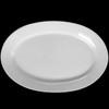 "Platte oval 37 x 24 cm ""Albergo"" halbtief"
