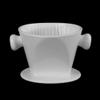 Kaffeefilter aus Porzellan für Tischkanne