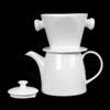 Kaffeekanne 1,2 l mit Filter und Deckel (**)