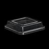 KST-Deckel quadratisch 11,5 x 11,5 cm klar hoch