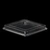 KST-Deckel quadratisch 11,5 x 11,5 cm klar niedrig