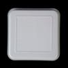 KST-Deckel quadratisch 11,5 x 11,5 cm grau (**)