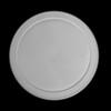 Kunststoffdeckel grau für Schale rund 0,45 l (**)