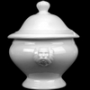 Lion bowl 3,3 l with Lid with spoon hole