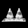 "Salz & Pfeffer Menage ""Elefanten"" 3-tlg. 13 x 8 cm (**)"