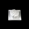 """Salz & Pfeffer Menage """"Yin Yang"""" 3-tlg. 9 x 9 cm"""