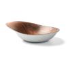 """Alumina Schale 26 x 20 cm """"Holz Optik"""""""
