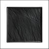 """Dekoplatte """"Naturstein matt"""" schwarz 26 x 26 cm"""