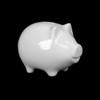 Geld- & Trinkgeld Sparschwein 13 x 9 cm