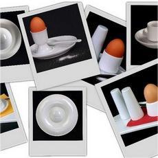 Eier servieren