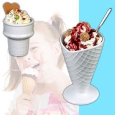 Eis servieren
