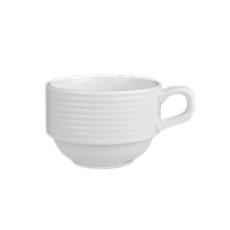 Tazas de porcelana en relieve