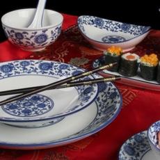Geschirr für Asia-Restaurants
