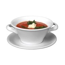 Tazas de sopa