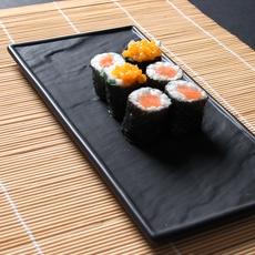 Sushi servieren