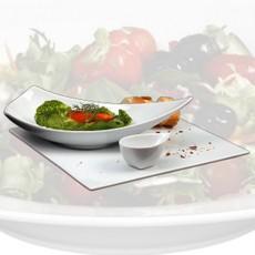 Salat servieren
