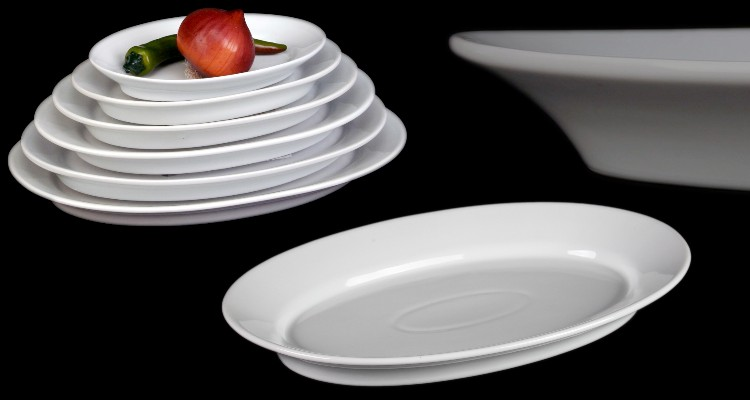 Ovale Porzellanplatten Form Albergo kompetent & günstig kaufen!