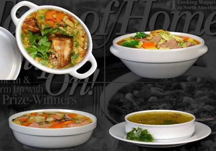 Compre Tazón de sopa porcelana blanca de manera competente y barata!