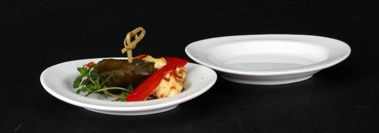 Porzellan Fingerfood Platten & Appetizer Miniaturteller kaufen!