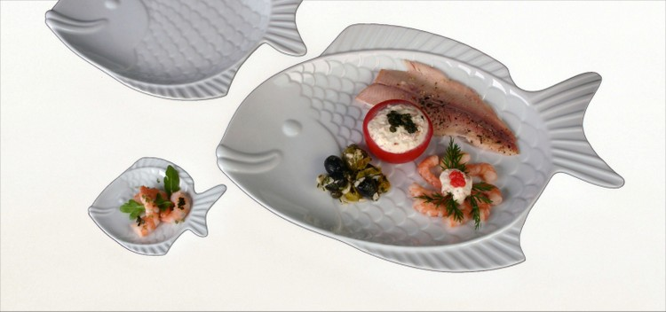 Plate Shape Nemo-buy competently and for a good price!