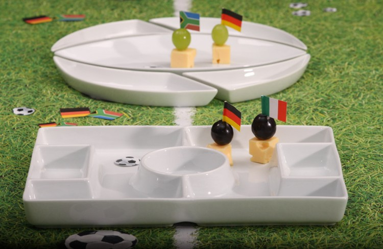 Football in porcelain-buy competently and for a good price!