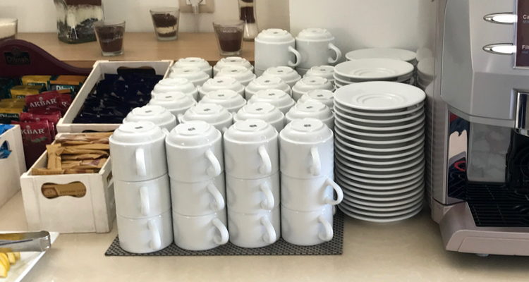 Becher & Tassen aus Porzellan fürs Catering und die Außer-Haus-Verpflegung!