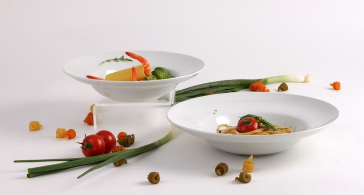 Pastateller aus weißem Porzellan kompetent & günstig kaufen!