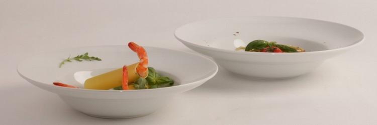 Porzellan-Pastateller Form Klassik - Qualität günstig kaufen!