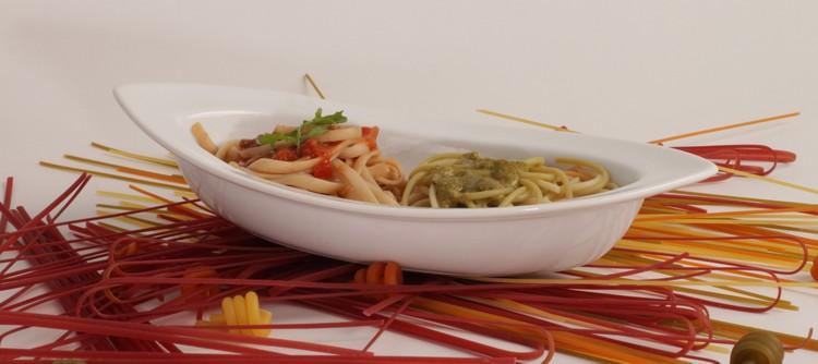 Pastaschalen aus weißem Porzellan kompetent & günstig kaufen!