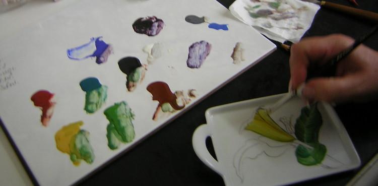 Der Sortimentsauszug von Holst Porzellan speziell für die Porzellanmalerei
