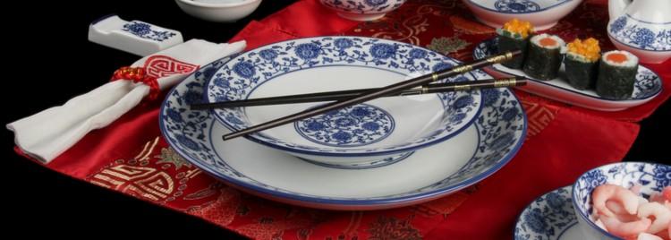 Porzellanteller und -platten Form Qing Hua Ci günstig kaufen!