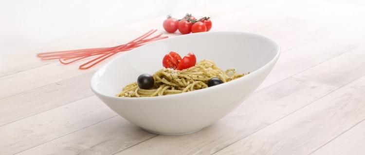 Geschirr für italienische Restaurants - Anregungen und Ideen von Holst Porzellan