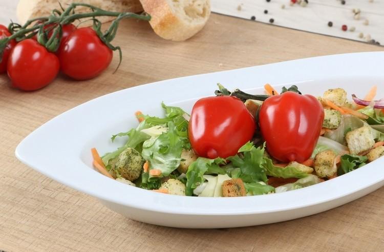 Ideen und Anregungen zum Servieren von Salat