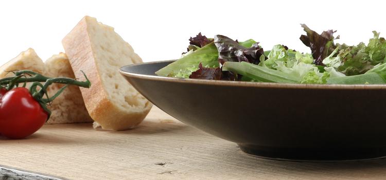 Porzellan Salatteller als Hauptspeisenteller günstig kaufen!