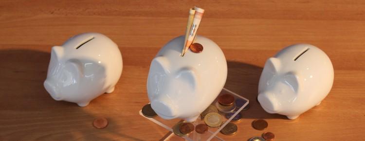 Spar- & Geschenkdosen aus weißem Porzellan günstig kaufen!