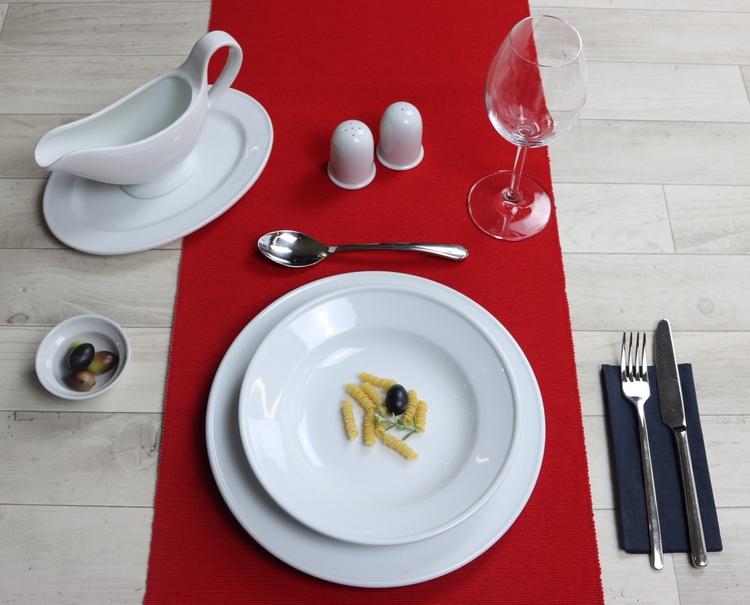 Hartporzellan Gastroteller Form Stabrand günstig kaufen!