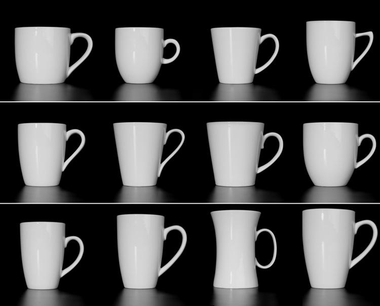 Trinkbecher und Kaffeebecher aus Porzellan günstig kaufen!