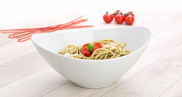 Pastabowl aus Porzellan im Vapiano Design.